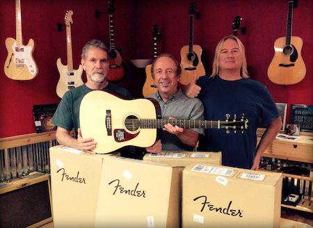 Fender Donation w Jeff Van Zandt Small