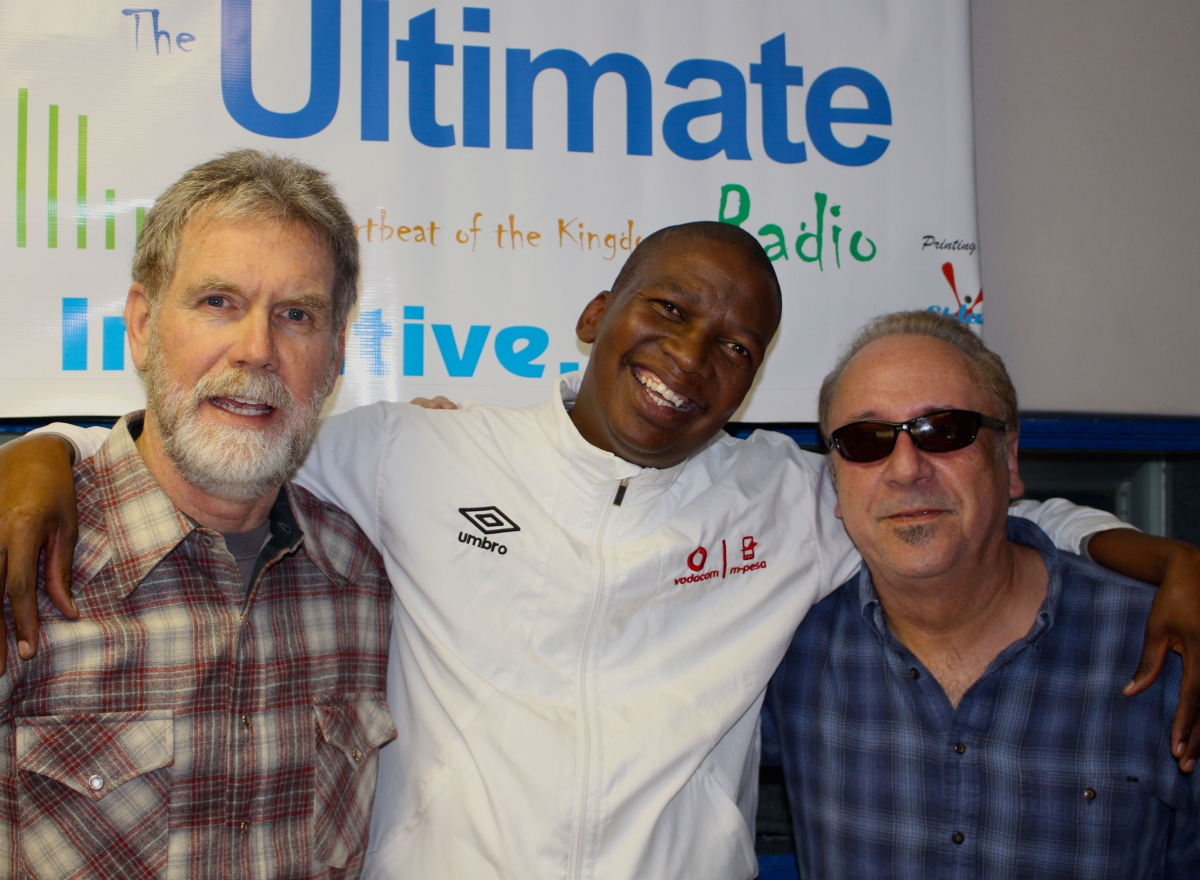 With DJ Dallas T at Ultimate Radio