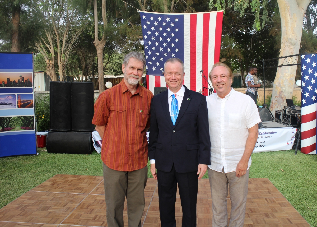 Independence Day Reception with Ambassador Larry Andre